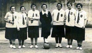 Basket-Ball femenino Bilbao 1928