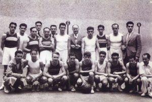 1-012 LOS POLIDEPORTISTAS DEL CLUB DEPORTIVO (1942)