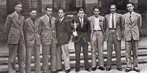 2-004 LA SALLE EX-ALUMNOS Camp. II y III Torneo SEU (1942 y 43)
